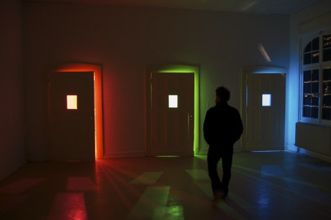 """r g b"", installation view, ArToll, Germany"